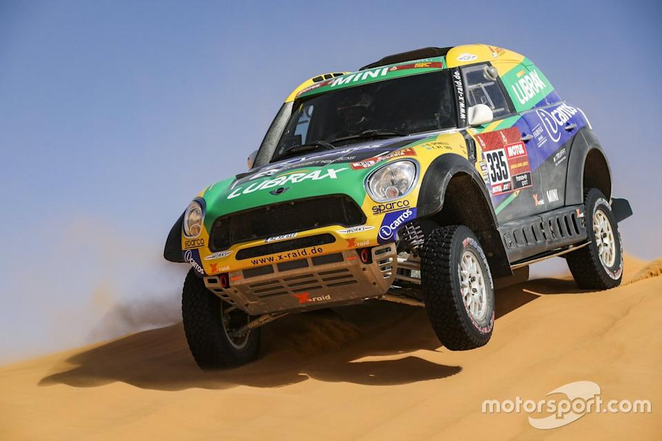 "#335 X-Raid Mini JCW Rally Team: Guilherme Spinelli, Youssef Haddad<span class=""copyright"">DPPI </span>"
