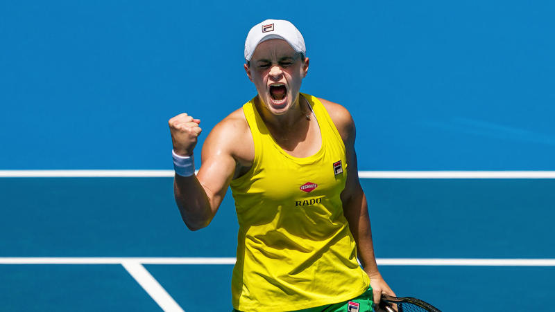 Ash Barty is favourite to take home Australia's tennis player of the year. (Getty Images)