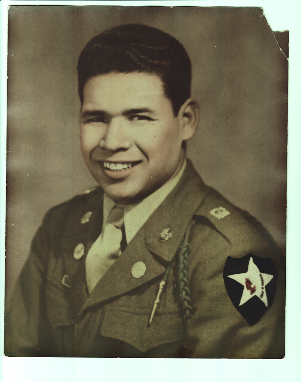 Al Padilla during his time in the U.S. Army.
