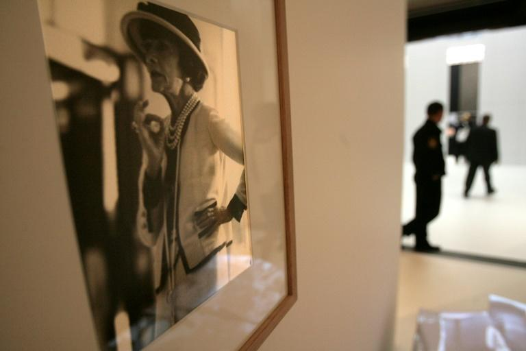 """The spy who loved her: A photo of French designer Gabrielle """"Coco"""" Chanel at a Moscow show dedicated to her work in 2007"""