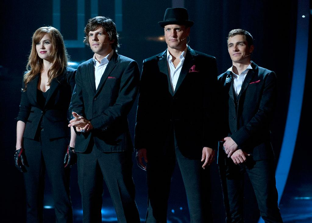 "Isla Fisher, Jesse Eisenberg, Woody Harrelson and Dave Franco in Summit Entertainment's ""Now You See Me"" - 2013"