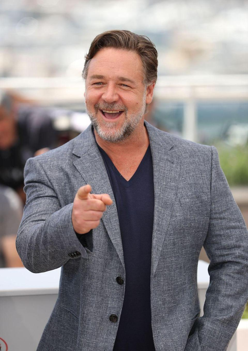 """<p>Russell Crowe's history with music<a href=""""https://torontosun.com/2017/07/17/russell-crowe-blasts-his-music-critics/wcm/5c4c977d-4d2b-442e-88d2-afc19bc41d4a"""" rel=""""nofollow noopener"""" target=""""_blank"""" data-ylk=""""slk:dates back to 1992"""" class=""""link rapid-noclick-resp""""> dates back to 1992</a> in his home country of New Zealand. He started releasing music under the name Russ Le Roq. Then he provided lead vocals for Roman Antix (great name for the <em>Gladiator </em>star), which evolved into rock band <a href=""""https://open.spotify.com/artist/2S0YLzh0aFiUC0yJDGgJMl?si=4uV7LWdmSPKr2Fn9eaD-SA"""" rel=""""nofollow noopener"""" target=""""_blank"""" data-ylk=""""slk:30 Odd Foot of Grunts"""" class=""""link rapid-noclick-resp"""">30 Odd Foot of Grunts</a>. Most recently, he's been pushing out tunes with the band <a href=""""https://open.spotify.com/artist/0eH5T3dmOFVyNiUc8kmuou?si=qT_sC400ToC3OaGbgvN09g"""" rel=""""nofollow noopener"""" target=""""_blank"""" data-ylk=""""slk:Indoor Garden Party"""" class=""""link rapid-noclick-resp"""">Indoor Garden Party</a>.</p>"""
