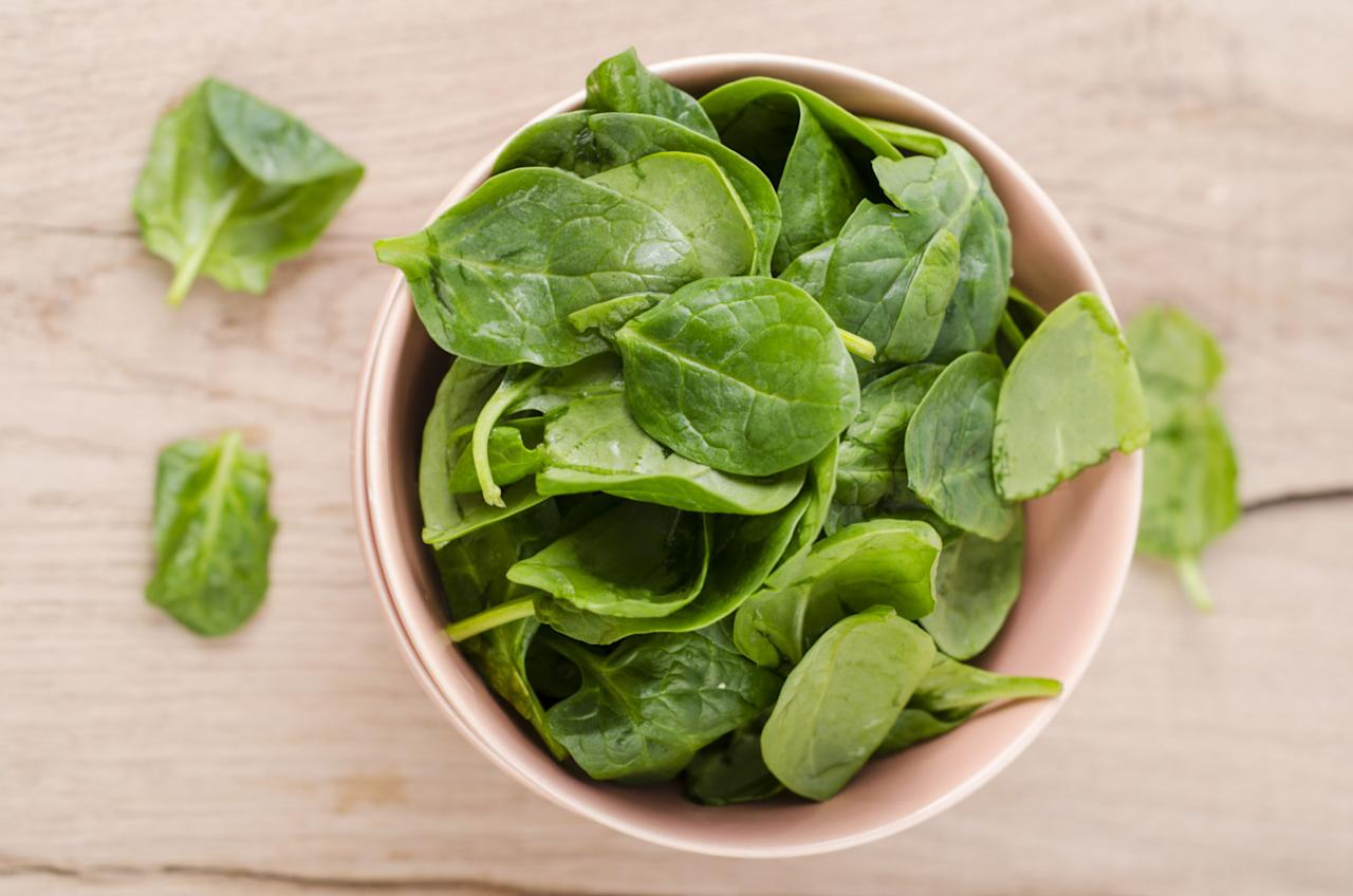 <p>This popular leafy green shot up the list from #8 in 2016 to the runner-up spot. Three-fourths of samples tested were contaminated with a neurotoxic bug killer that's banned from use on food crops in Europe. With an average of 7 pesticides found on every conventionally grown spinach sample collected in 2015, you'd be wise to thoroughly rinse the leaves before chowing down.</p>