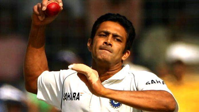 Anil Kumble has two five-wicket hauls to his name against South Africa.