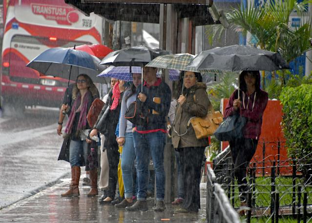 Costa Rica and other Central American nations have been hit by tropical storm Nate. (Getty)