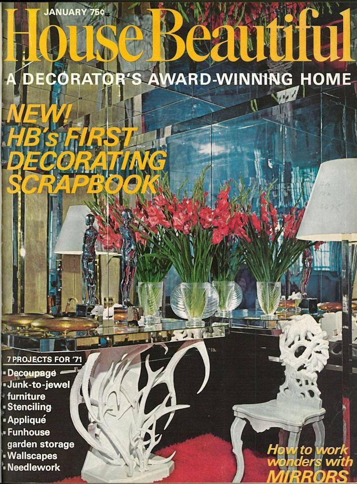 <p>Did you start 1971 off with one of the seven different projects featured in our January issue? Decoupage? Stenciling? Appliqué? Needlework?</p>
