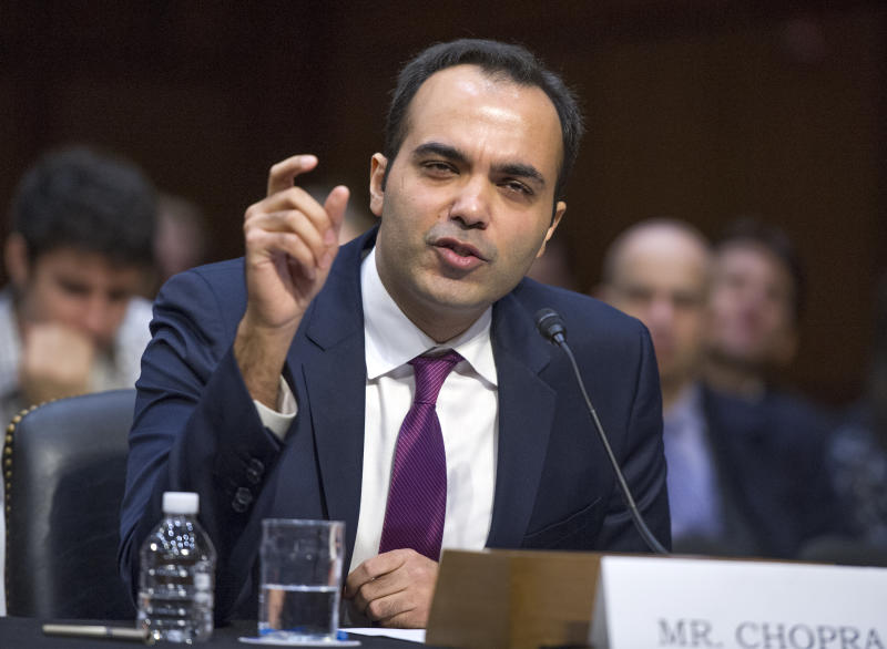 Rohit Chopra testifies before the United States Senate Committee on Commerce, Science, and Transportation on his nomination to be a member of the Federal Trade Commission (FTC) on Capitol Hill in Washington, DC on Wednesday, February 14, 2018. Credit: Ron Sachs / CNP/Sipa USA