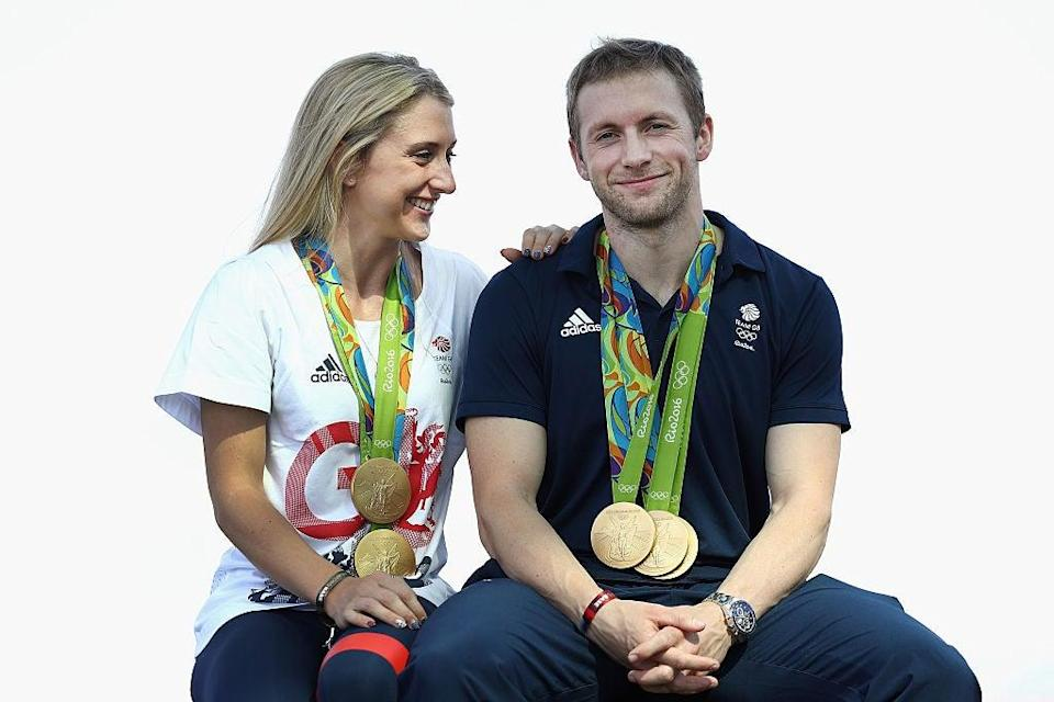 Laura and Jason Kenny will be seeking more success on the track at Tokyo 2020 (Getty Images)