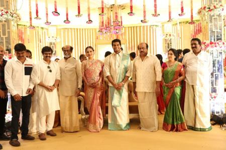 vivek at soundarya rajinikanth Vishagan Vanangamudi's wedding