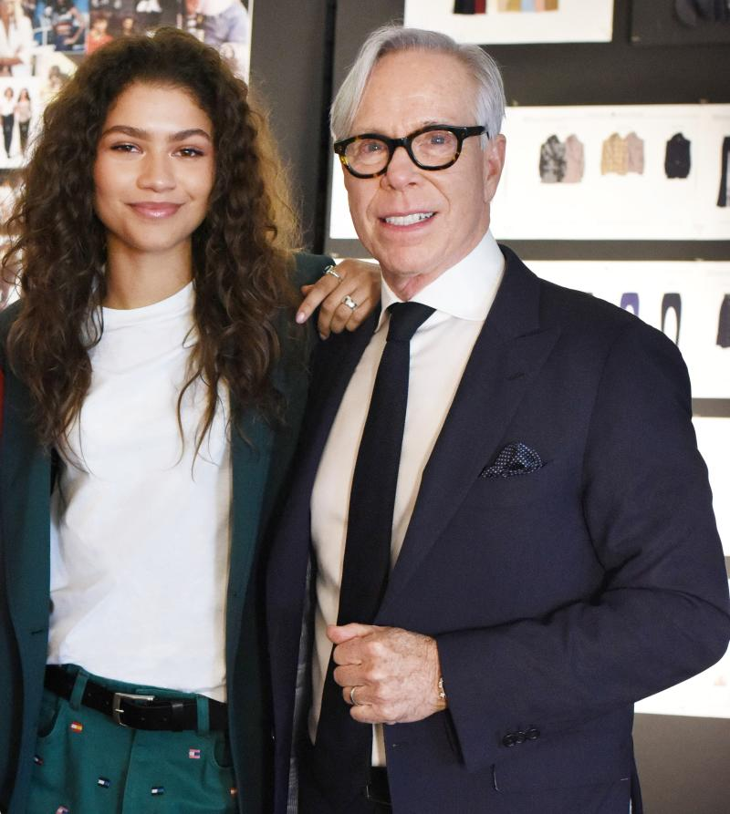 f91a2c09 EXCLUSIVE: Tommy Hilfiger Shakes Things Up With Zendaya