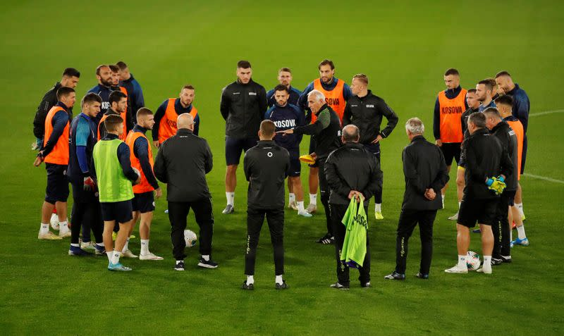 Euro 2020 Qualifier - Kosovo Training