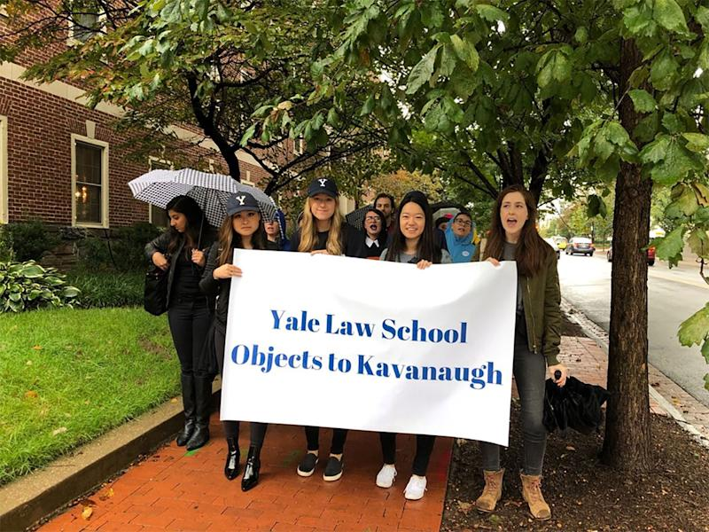 Yale cancels classes to accommodate student protest of Kavanaugh nomination