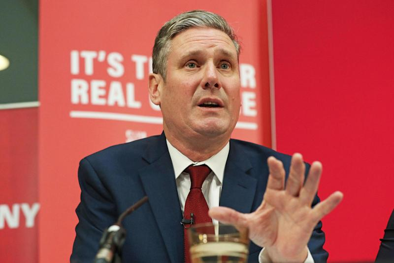 Keir Starmer is running in the race to succeed Jeremy Corbyn (PA)