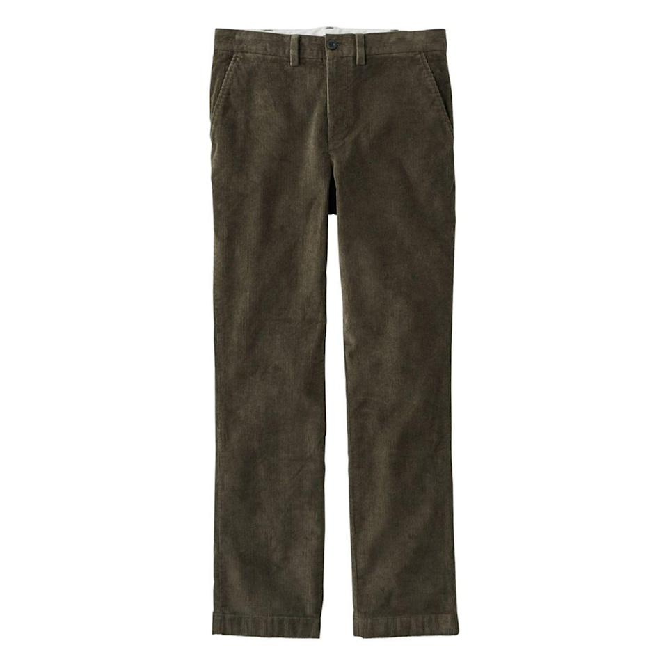 "<p><strong>L.L. Bean</strong></p><p>llbean.com</p><p><strong>$54.99</strong></p><p><a href=""https://go.redirectingat.com?id=74968X1596630&url=https%3A%2F%2Fwww.llbean.com%2Fllb%2Fshop%2F516419%3ForiginalProduct%3D123557%26productId%3D1750944%26attrValue_0%3DSepia%26pla1%3D0%26mr%253AtrackingCode%3D2FF29312-04C4-E911-8103-00505694403D%26mr%253AreferralID%3DNA%26mr%253Adevice%3Dc%26mr%253AadType%3Dpla_with_promotiononline%26qs%3D3136915%26pcd%3DBEAN15%26gclid%3DCj0KCQiAwMP9BRCzARIsAPWTJ_EursIybZJmTEHDNxRyHIVw3wpv0I0_4WsCoOfTHP_1NnGScSdbVHgaAoweEALw_wcB%26gclsrc%3Daw.ds%26SN%3DMasterPrompt04_test%26SS%3DB%26SN2%3DFindabilityRecs03_test%26SS2%3DA%26SN3%3DFindabilityProd07_Cat%26SS3%3DB&sref=https%3A%2F%2Fwww.esquire.com%2Fstyle%2Fmens-fashion%2Fg34680965%2Fbest-corduroy-pants-men%2F"" rel=""nofollow noopener"" target=""_blank"" data-ylk=""slk:Buy"" class=""link rapid-noclick-resp"">Buy</a></p>"