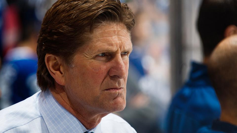 """Buffalo Sabres head coach Mike Babcock"" has a bit of a ring to it, no? (Photo by Mark Blinch/NHLI via Getty Images)"