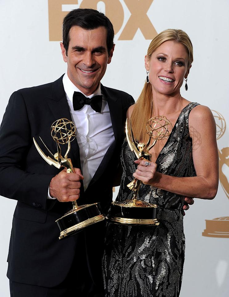 "<b>Worst: 'Modern Family' Takeover</b><br> We were happy for Julie Bowen's win, since Claire Dunphy is an extremely underrated character, and laughed out loud at Ty Burrell's makeup jokes. But ""Modern Family"" sweeping every single comedy award it was nominated for? Come. On. The only thing we smiled about when Gwyneth Paltrow called out the show's outstanding comedy win was how visibly bored she looked saying it."