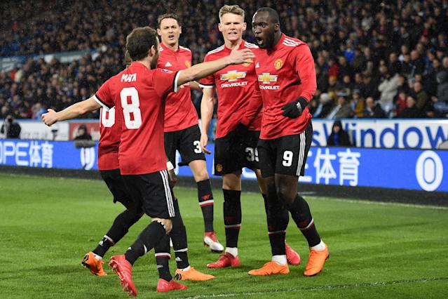 Huddersfield 0 Manchester United 2: VAR scrutinised again as Romelu Lukaku goals book quarter-final place