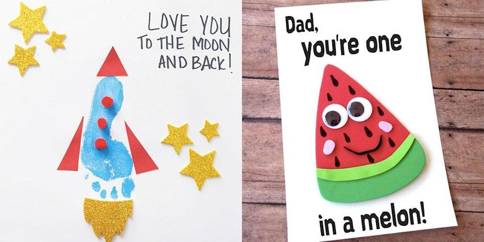 "<p>June 16 will be here before you know it. That means you have a lot of <a href=""https://www.goodhousekeeping.com/holidays/fathers-day/"" rel=""nofollow noopener"" target=""_blank"" data-ylk=""slk:Father's Day"" class=""link rapid-noclick-resp"">Father's Day</a> prep ahead of you. Between picking out <a href=""https://www.goodhousekeeping.com/holidays/fathers-day/g336/fathers-day-gift-guide/"" rel=""nofollow noopener"" target=""_blank"" data-ylk=""slk:the perfect gift"" class=""link rapid-noclick-resp"">the perfect gift </a>and perfecting <a href=""https://www.goodhousekeeping.com/holidays/fathers-day/g4399/fathers-day-cakes/"" rel=""nofollow noopener"" target=""_blank"" data-ylk=""slk:a dessert that Dad will love"" class=""link rapid-noclick-resp"">a dessert that Dad will love</a>, you may not have enough time to make another trek to the store to get a card for your #1 guy. Share your appreciation of Dad or Grandpa with these easy DIY cards and free templates that are just as heartfelt (if not, more) than what you'd find at the store. Not sure what to write on the inside? Try one of these <a href=""http://www.goodhousekeeping.com/holidays/fathers-day/g2419/fathers-day-quotes/"" rel=""nofollow noopener"" target=""_blank"" data-ylk=""slk:sweet Father's Day quotes"" class=""link rapid-noclick-resp"">sweet Father's Day quotes</a>.</p>"