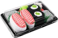 <p>We all know someone who would laugh about this <span>Sushi Socks Box</span> ($20). It makes for a funny white elephant gift too.</p>