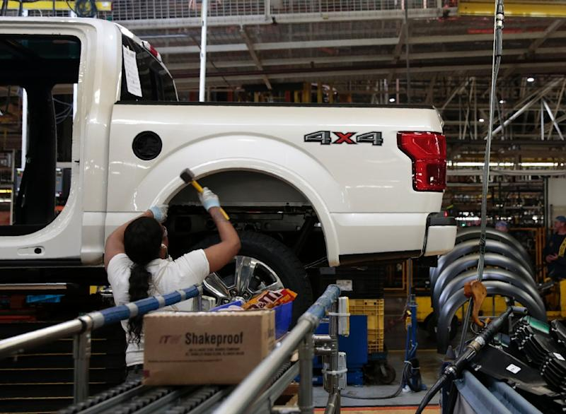 Ford will roll out a major reorganization of its European operations to boost profitability (AFP Photo/JEFF KOWALSKY)