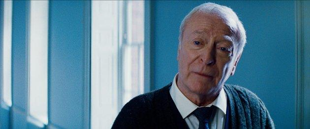 Michael Caine as Alfred in 'The Dark Knight Rises'