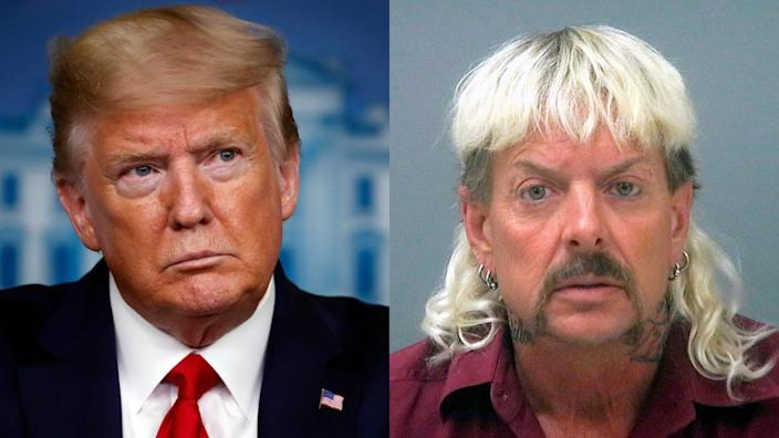 donald trump, joe exotic