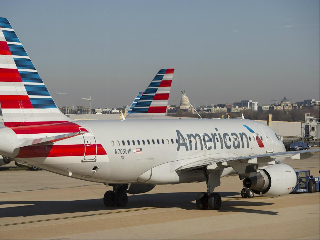 The NAACP has issued a travel advisory for passengers on American Airlines after a series of documented incidents of discrimination: SAUL LOEB/AFP/Getty Images