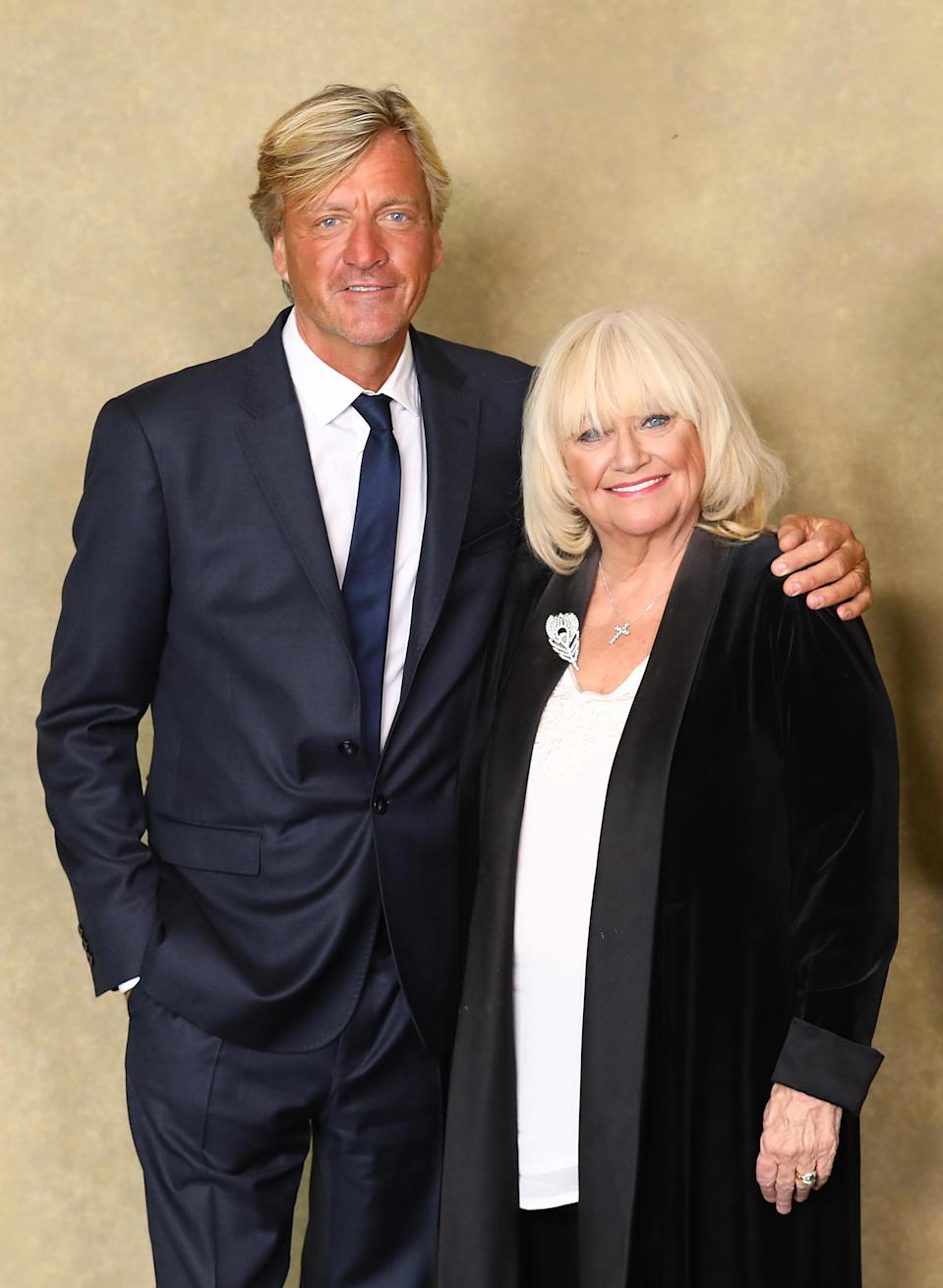 """Richard Madeley and Judy Finnigan attend a BAFTA tribute evening to long running TV show """"This Morning"""" at BAFTA on October 1, 2018 in London, England. (Photo by Tim P. Whitby/Tim P. Whitby/Getty Images)"""