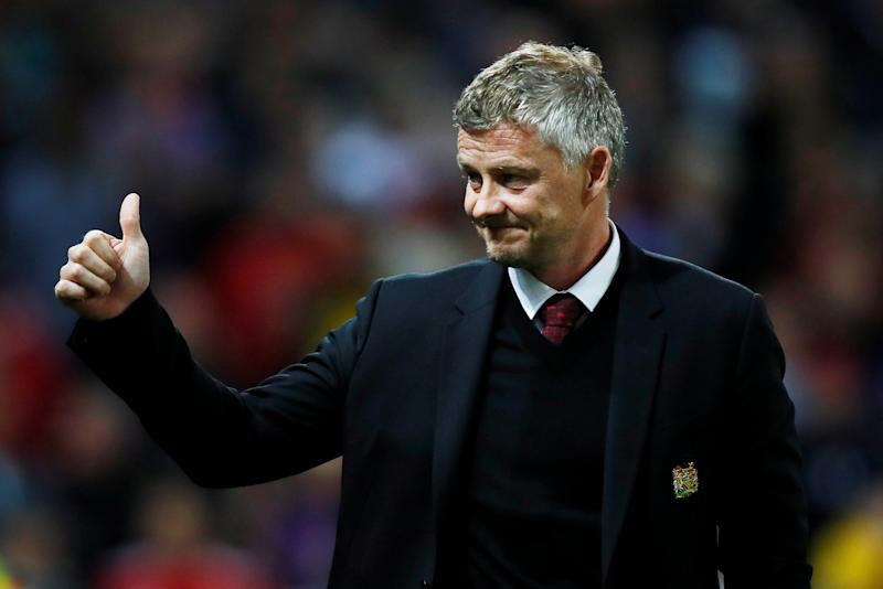 Soccer Football - Europa League - Group L - Manchester United v Astana - Old Trafford, Manchester, Britain - September 19, 2019 Manchester United manager Ole Gunnar Solskjaer before the match Action Images via Reuters/Jason Cairnduff