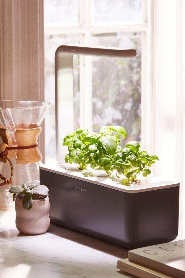 <p>If they don't have time to go to the grocery store every week, this <span>Click & Grow Smart Herb Garden 3 Starter Kit</span> ($100) is such a great gift because it does the work for them.</p>