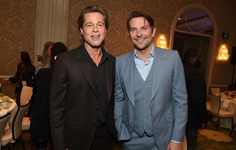 Brad Pitt thanked his friend Bradley Cooper for helping him get sober in a rare candid moment