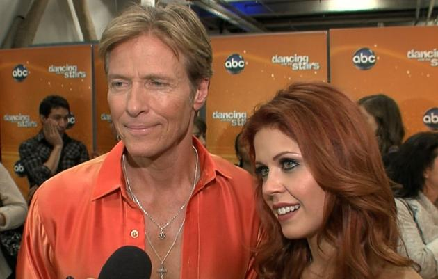 Jack Wagner and Anna Trebunskaya chat with Access Hollywood on April 3, 2012 -- Access Hollywood