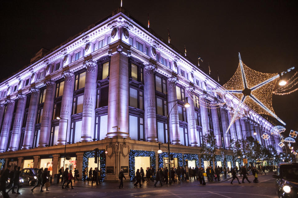 """<p>Arguably the biggest Christmas switch-on in London, <a href=""""https://www.oxfordstreet.co.uk/christmas-lights-switch-show/"""" rel=""""nofollow noopener"""" target=""""_blank"""" data-ylk=""""slk:Oxford Street"""" class=""""link rapid-noclick-resp"""">Oxford Street</a> will be turning on its 1,778 lights on November 7. Inspired by falling snowflakes, Rita Ora will be pressing the official button. The event is expected to attract over one million people so be prepared. From 5pm outside Park House. </p>"""