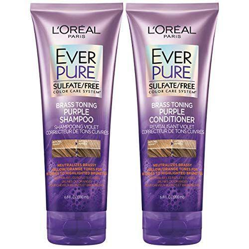 "<p><strong>L'Oreal Paris</strong></p><p>amazon.com</p><p><strong>$13.98</strong></p><p><a href=""https://www.amazon.com/dp/B0842YD1CX?tag=syn-yahoo-20&ascsubtag=%5Bartid%7C2164.g.34441514%5Bsrc%7Cyahoo-us"" rel=""nofollow noopener"" target=""_blank"" data-ylk=""slk:Shop Now"" class=""link rapid-noclick-resp"">Shop Now</a></p><p>This shampoo and conditioner kit features hibiscus to hydrate hair and purple dyes to help color-treated locks maintain their vibrancy for up to four weeks! </p>"