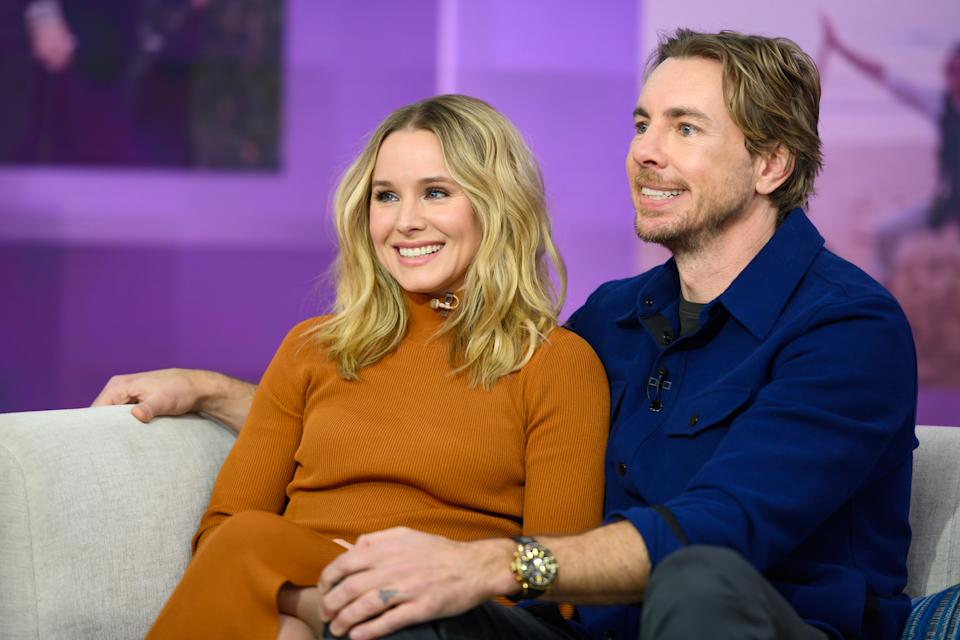 TODAY -- Pictured: Kristen Bell and Dax Shepard on Monday, February 25, 2019 -- (Photo by: Nathan Congleton/NBCU Photo Bank/NBCUniversal via Getty Images via Getty Images)