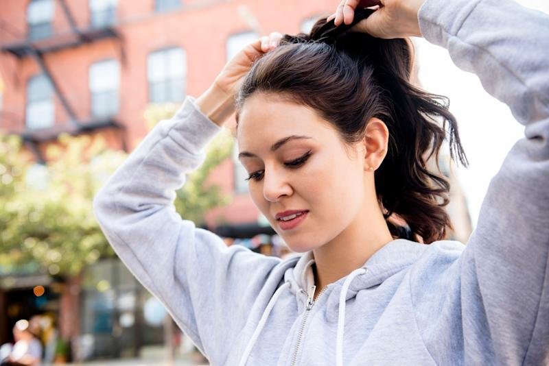Many ponytail-wearers experience headaches.  (Photo: JGI/Jamie Grill via Getty Images)