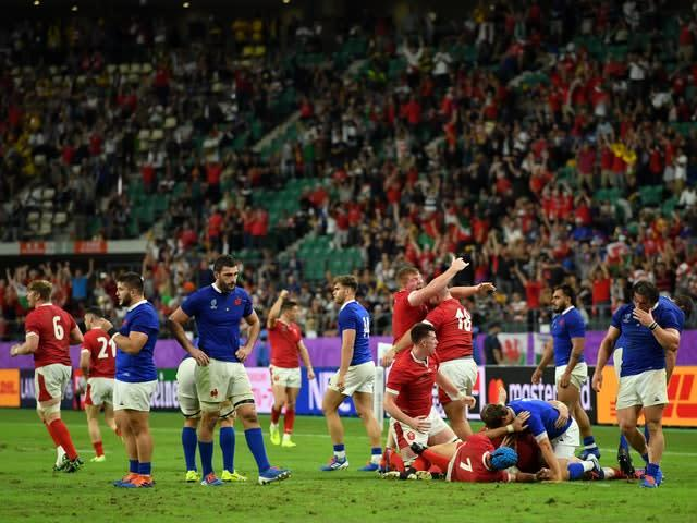 Wales won the game at the death (Ashley Western/PA)