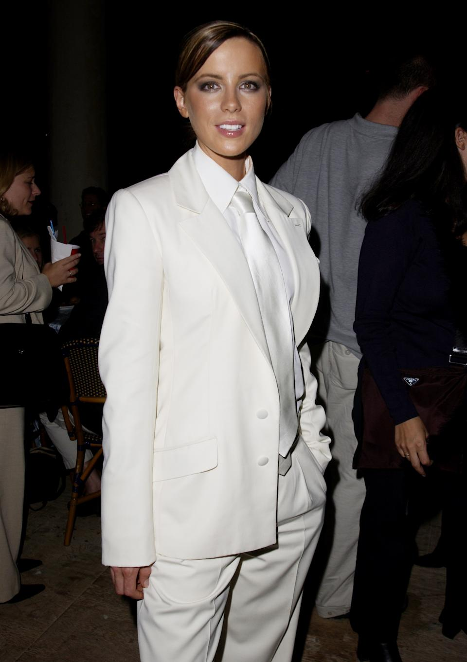 """Kate Beckinsale at the 2001 premiere of """"Serendipity."""" (Photo by J. Vespa/WireImage)"""