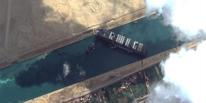 The guy driving the Suez Canal excavator said he slept 3 hours a night and had not yet been paid for his overtime.