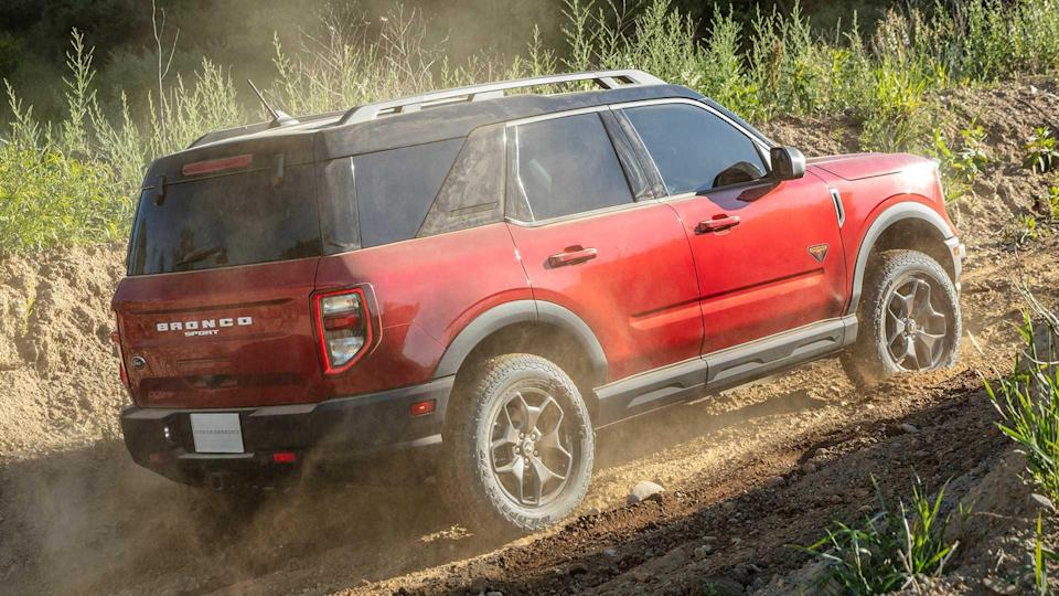 2021 Ford Bronco Sport Climbing A Hill