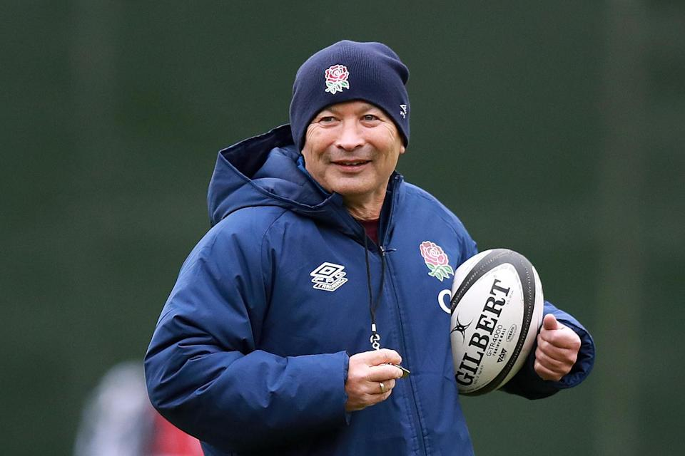 England coach Eddie Jones has appeared unfazed by the cancellation of his team's Quilter Cup contest against the BarbariansGetty Images