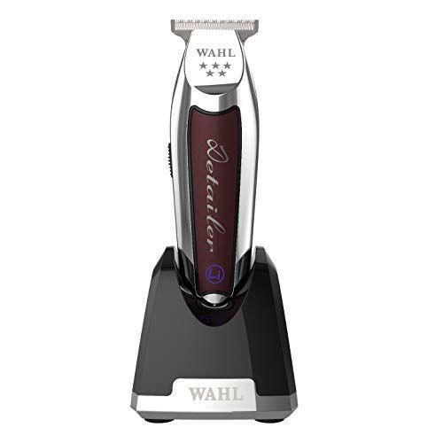 """<p><strong>Wahl Professional</strong></p><p>amazon.com</p><p><a href=""""https://www.amazon.com/dp/B07VWXZ1PH?tag=syn-yahoo-20&ascsubtag=%5Bartid%7C2139.g.32053511%5Bsrc%7Cyahoo-us"""" rel=""""nofollow noopener"""" target=""""_blank"""" data-ylk=""""slk:BUY IT HERE"""" class=""""link rapid-noclick-resp"""">BUY IT HERE</a></p><p>Maxime Bellemar, barber and founder of <a href=""""https://krwn.co/"""" rel=""""nofollow noopener"""" target=""""_blank"""" data-ylk=""""slk:KRWN"""" class=""""link rapid-noclick-resp"""">KRWN</a> Barbershops in Montreal, Canada, loves this """"sharp and easy-to-use"""" detailer because it has a T-shaped blade that makes hyper-detailed lineups easier. It's also great at making crisp, clean beard lines. It's a heavy-duty clipper that Bellemar says is """"solid.""""</p>"""