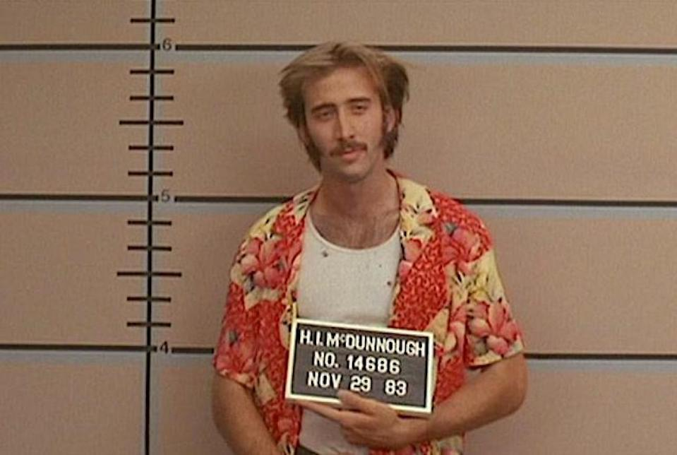 Nic Cage in 'Raising Arizona'20th Century Fox