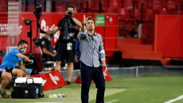 LaLiga: Real Betis fire manager Rubi after three-game winless streak; former player Alexis Trujillo appointed interim replacement