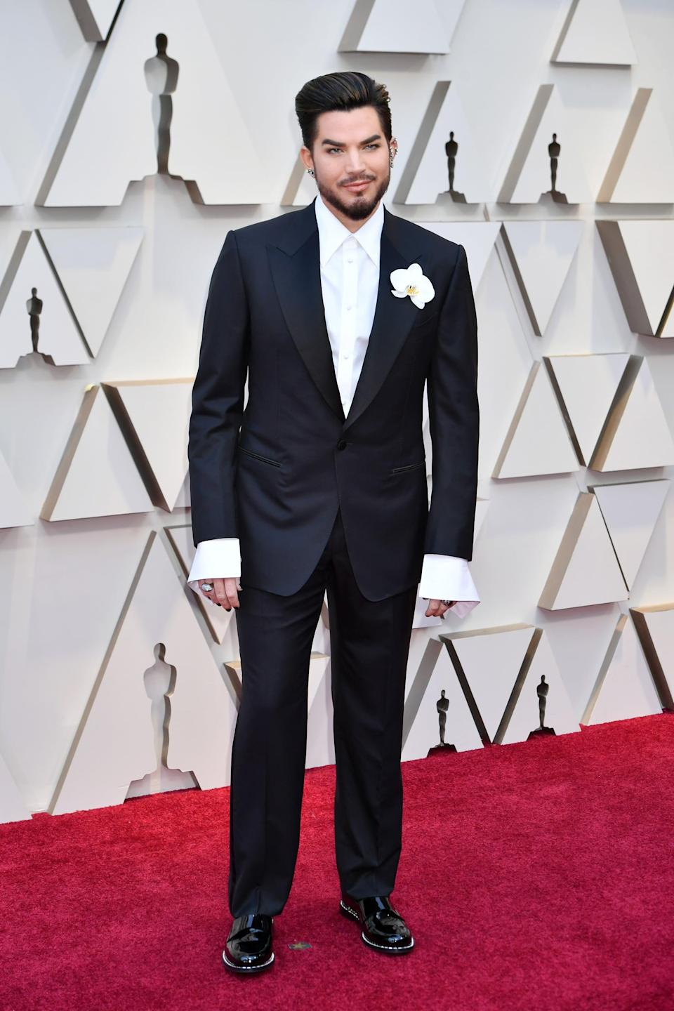 <p>Wearing Tom Ford.</p>