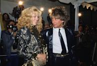 """<p>British singer Rod Stewart has been married <a href=""""https://www.smoothradio.com/artists/rod-stewart/wives-children-photograph-penny-lancaster/"""" rel=""""nofollow noopener"""" target=""""_blank"""" data-ylk=""""slk:three times"""" class=""""link rapid-noclick-resp"""">three times</a>. His first marriage was to actress and model Alana Hamilton from 1979 to 1984. His second marriage was to model Rachel Hunter from 1990 to 2006. And his current wife is model and photographer Penny Lancaster, whom he married in 2007.</p>"""