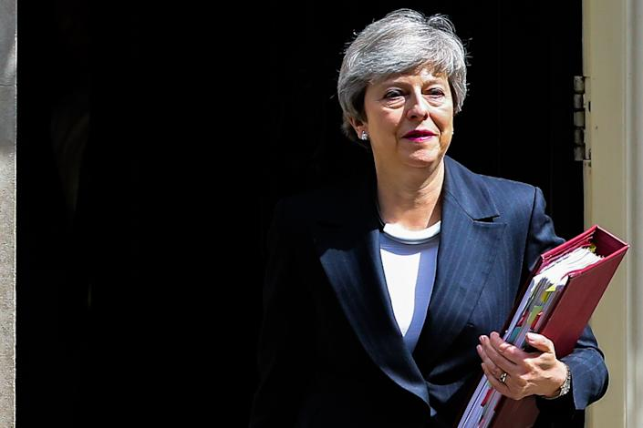 Theresa May's final attempt to deliver Brexit was a spectacular failure. (Photo by Dinendra Haria / SOPA Images/Sipa USA)