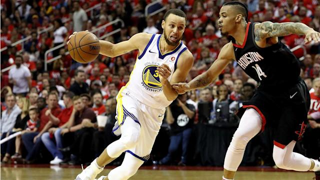 Stephen Curry has knocked down just two of his 13 3-point attempts in the first two games of the Western Conference Finals.