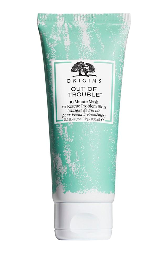 "<p>""I actually just purchased the Origins Out of Trouble Mask and I think I've found my holy grail. Zinc oxide, sulfur, and salicylic acid all in one. I've used it twice so far, and it has stopped any blemishes I've had in their tracks. I'd definitely recommend it to those with mild acne like myself."" Says <a rel=""nofollow"" href=""https://www.reddit.com/user/brittygree"">brittygree</a>.</p><p><a rel=""nofollow"" href=""https://www.asos.com/origins/origins-out-of-trouble-10-minute-mask-to-rescue-problem-skin-75ml/prd/11788336"">buy now</a></p>"