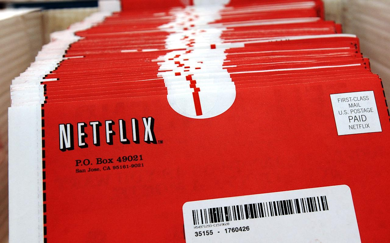 SAN JOSE, CA - FILE: Packages of DVDs await shipment at the Netflix.com headquarters January 29, 2002 in San Jose, California. Netflix announced September 15, 2011 that it expected to lose one million subscribers to its service after announcing a rate hike earlier this year.  Its stock has dropped over 15 percent since the announcement.  (Photo By Justin Sullivan/Getty Images)